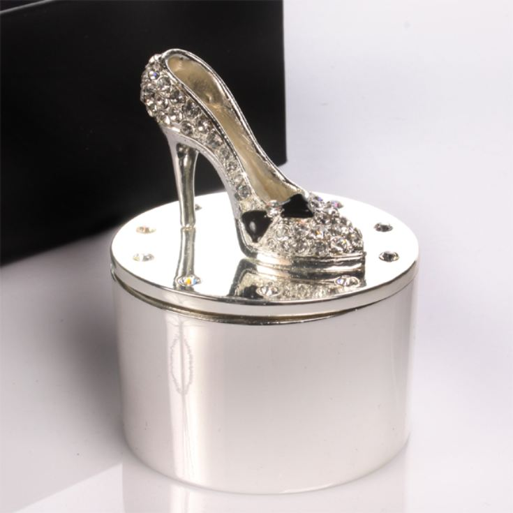 Engraved High Heeled Shoe Trinket Box product image