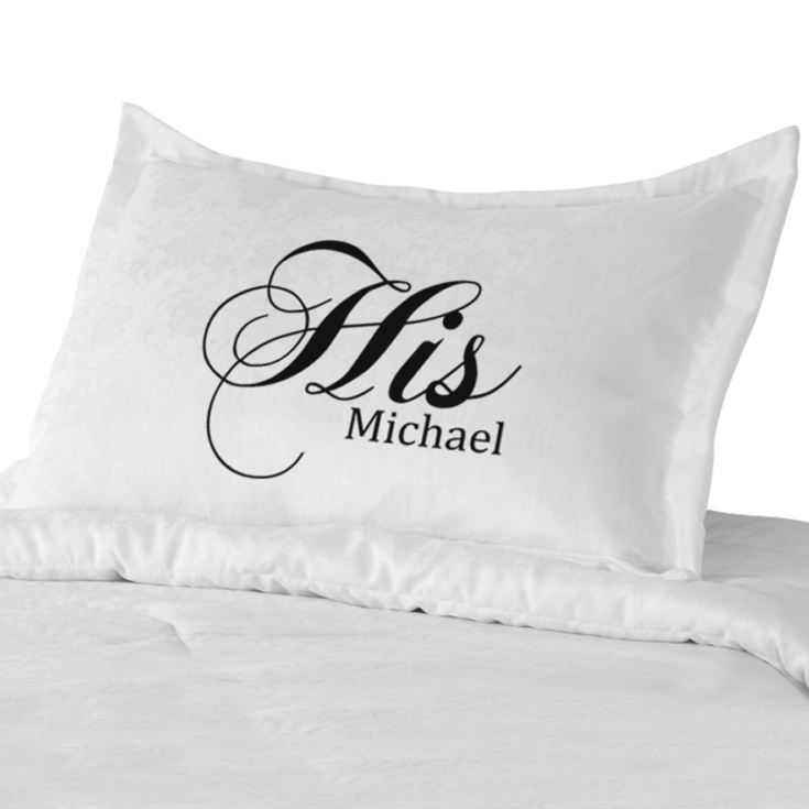 His & Hers Pillowcases product image