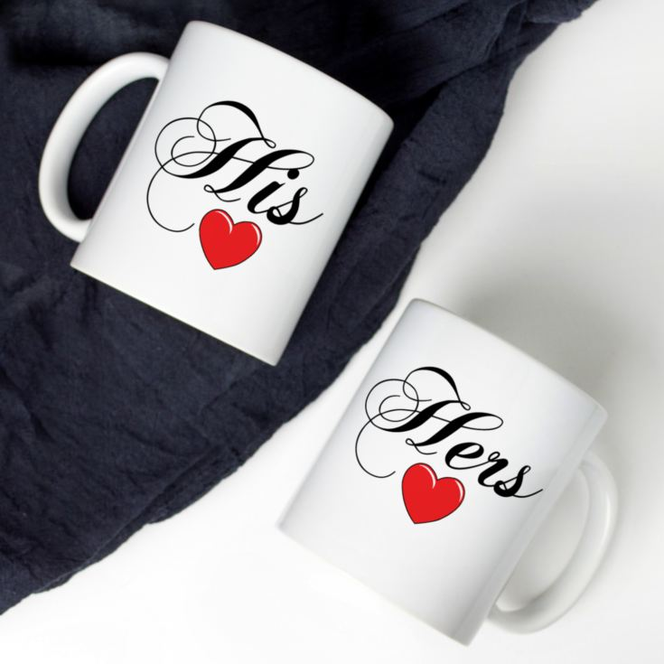 Couples Personalised Mugs product image
