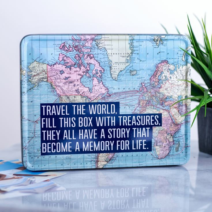 Travel The World Storage Tin product image