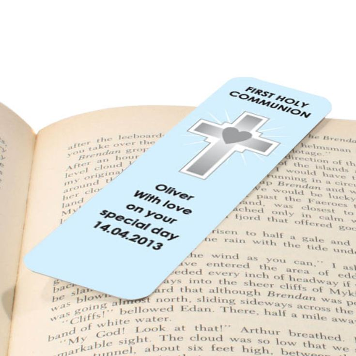 Personalised First Holy Communion Bookmark product image