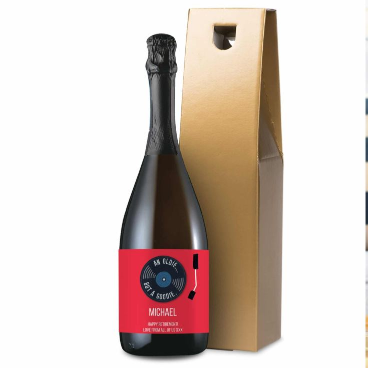 Personalised HotchPotch Oldie But A Goodie Prosecco product image