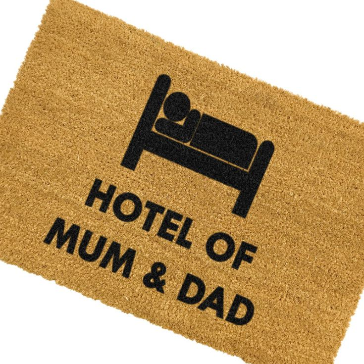 Hotel Mum and Dad Doormat product image