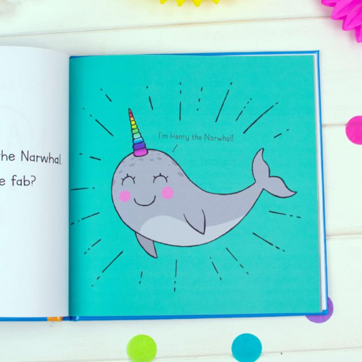 I'd Rather Be A Narwhal – Personalised Storybook product image