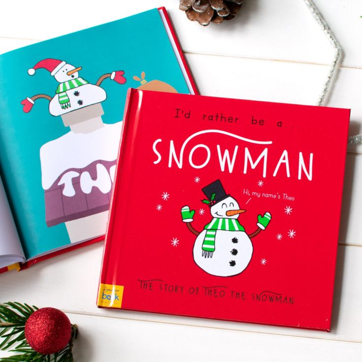 I'd Rather Be A Snowman – Personalised Storybook product image