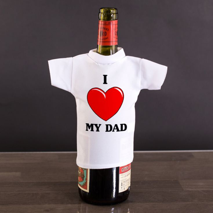 I Heart My... Wine Bottle T-Shirt product image