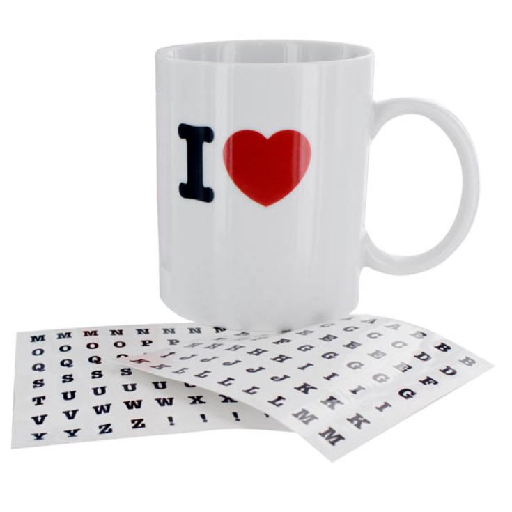 I Heart... Mug (Design Your Own) product image