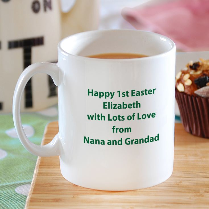 I Love Easter Personalised Mug product image