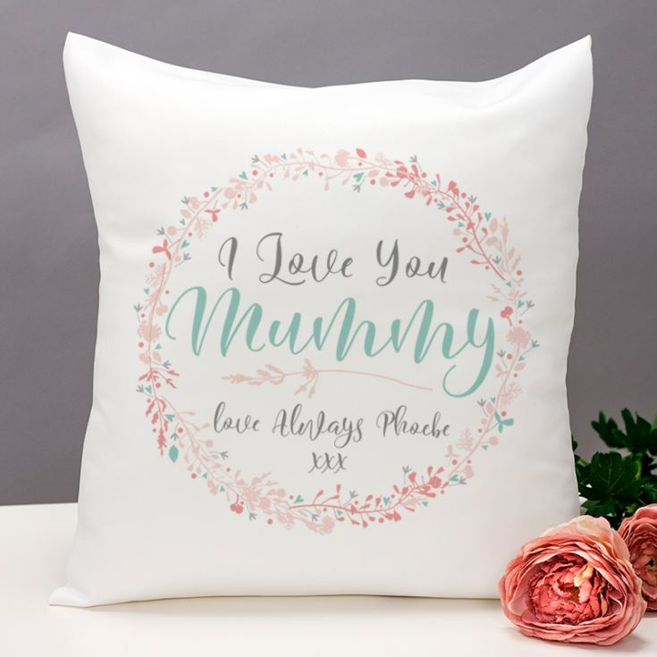 Personalised I Love You Mummy Cushion product image