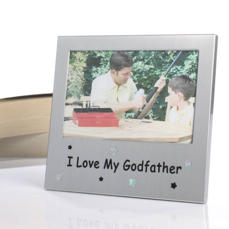I Love My Godfather Frame product image
