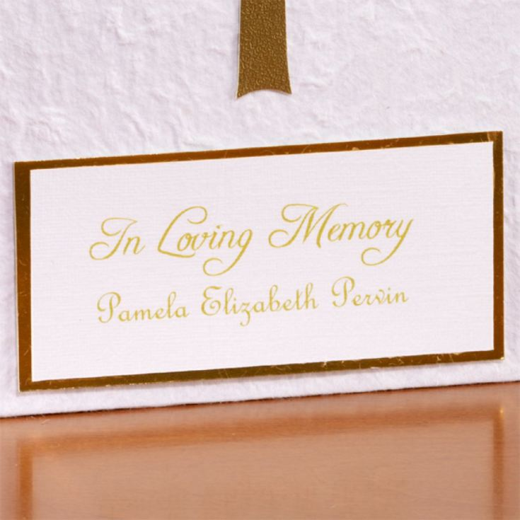 In Loving Memory Personalised Photo Album product image