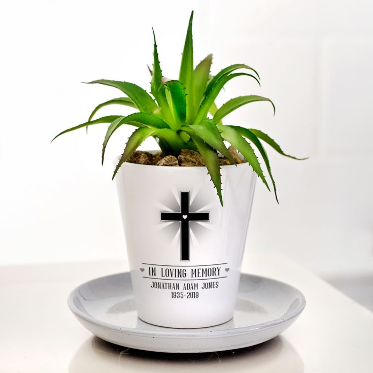 Personalised In Loving Memory Plant Pot product image