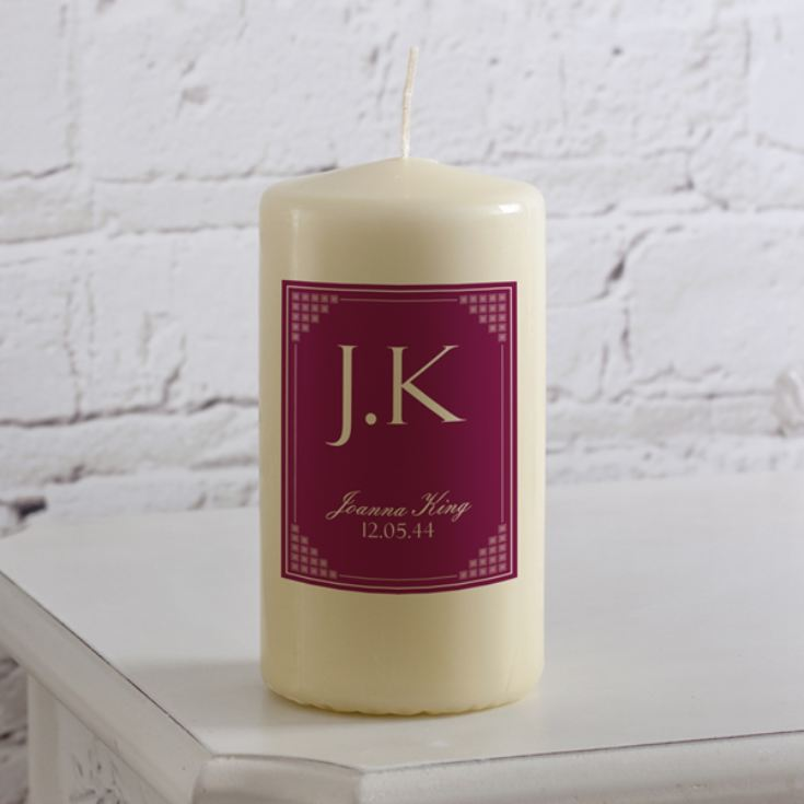 Personalised Initials Candle product image