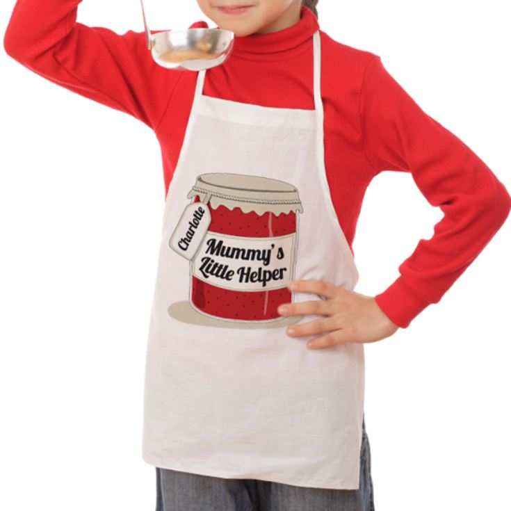 Personalised Mummy's Little Helper Children's Apron product image