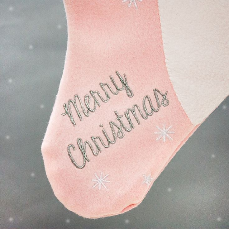 Personalised Embroidered Princess Unicorn Stocking product image