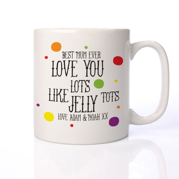 Personalised Jelly Tots Mug product image
