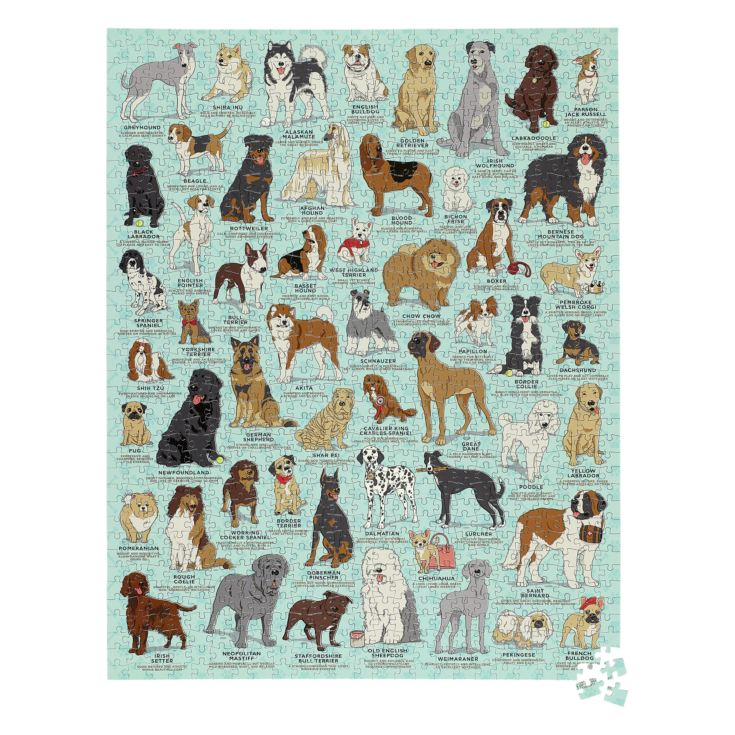 Dog Lover 1000pc Jigsaw Puzzle product image