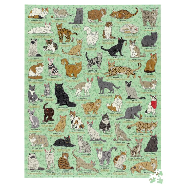 Cat Lover 1000pc Jigsaw Puzzle product image