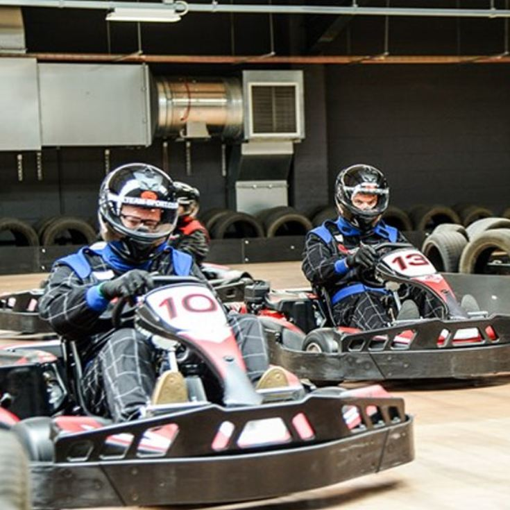 Indoor Karting Race for Two - Special Offer product image
