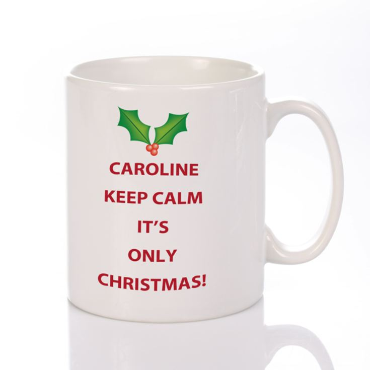 Keep Calm Christmas Mug product image
