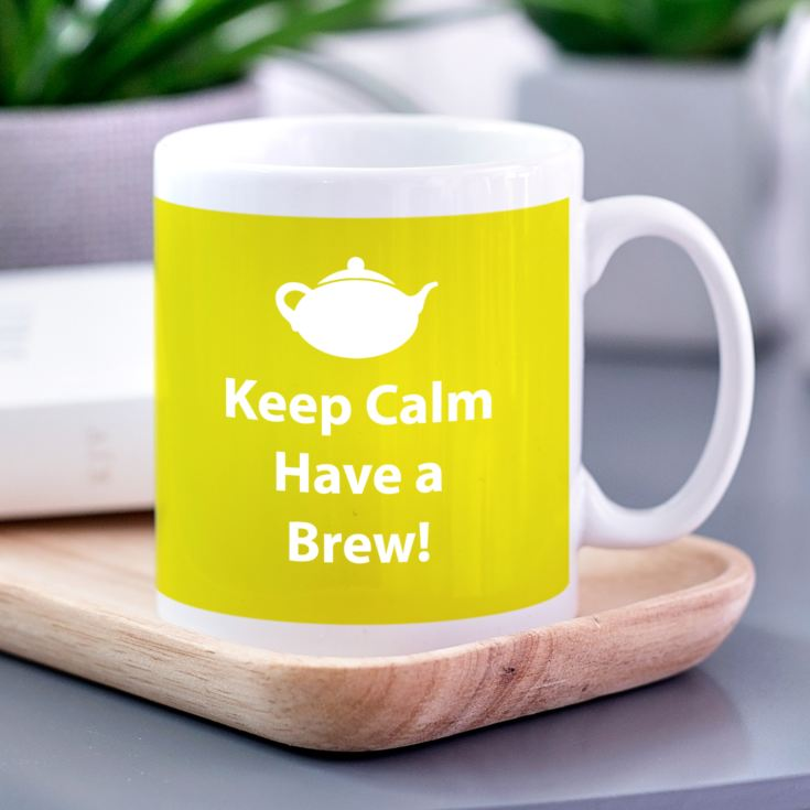Keep Calm Personalised Mug product image