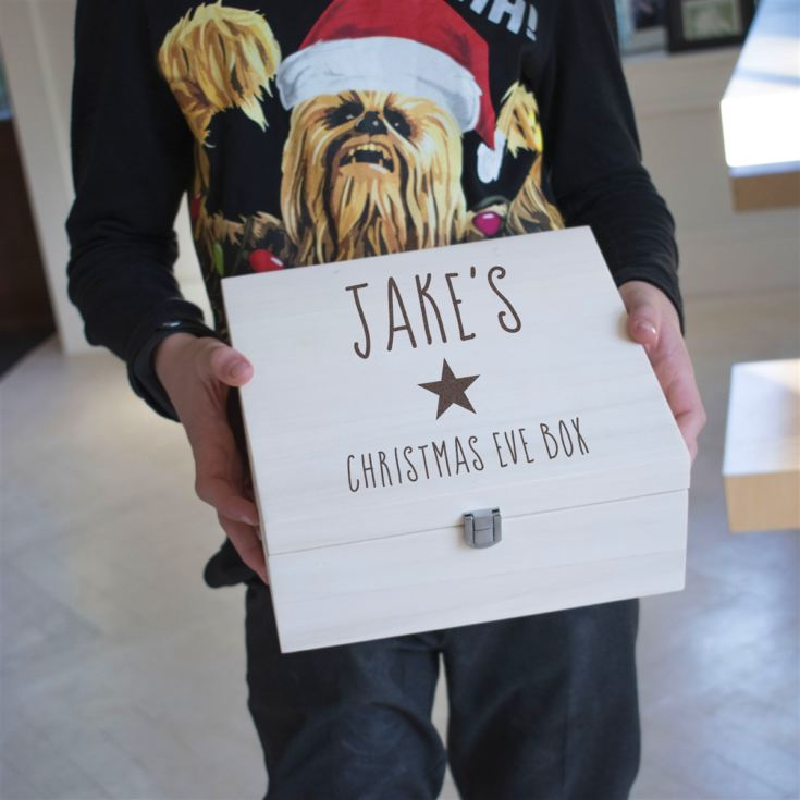 Personalised Kids Star Christmas Eve Box product image