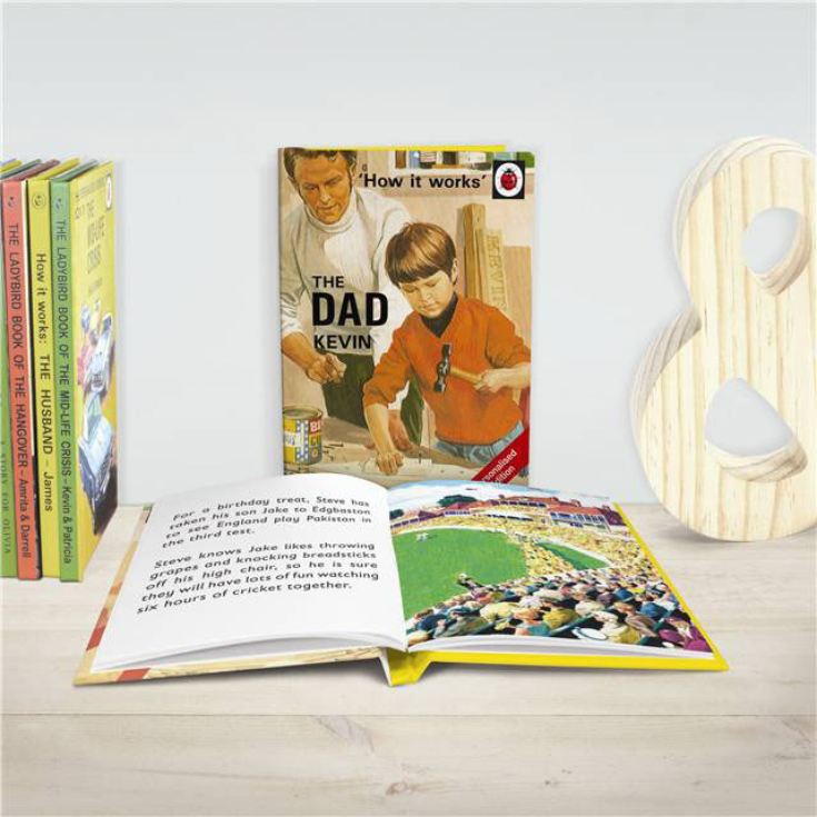 Personalised Ladybird Books For Adults - The Dad product image
