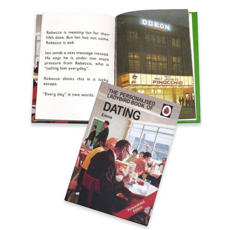 Personalised Ladybird Books For Adults - Dating product image