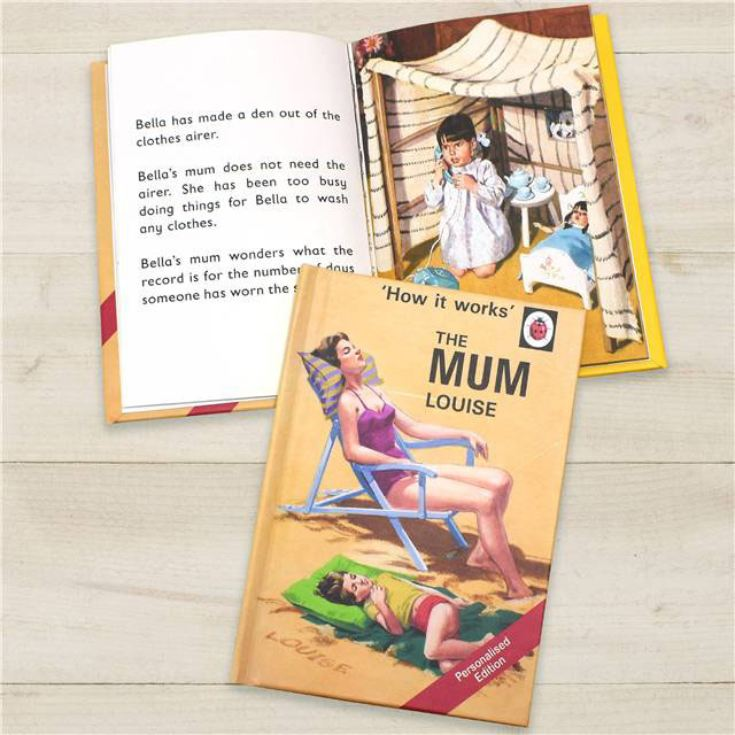 Personalised Ladybird Books For Adults - The Mum product image