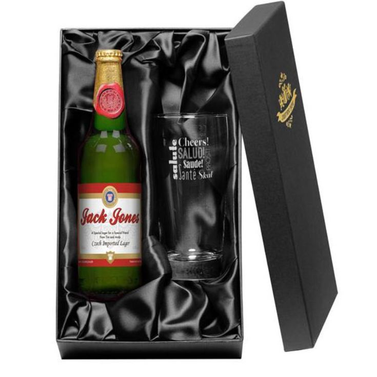 Personalised Lager Gift Pack product image