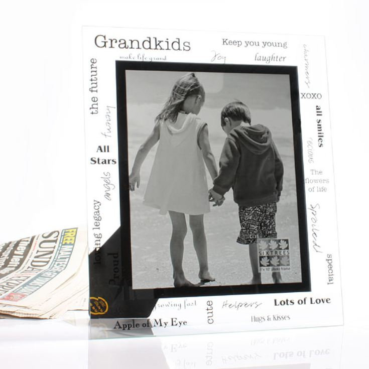 Moments Large Grandkids Glass Frame product image