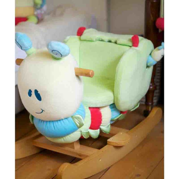 Personalised Curious Caterpillar Infant Rocker product image