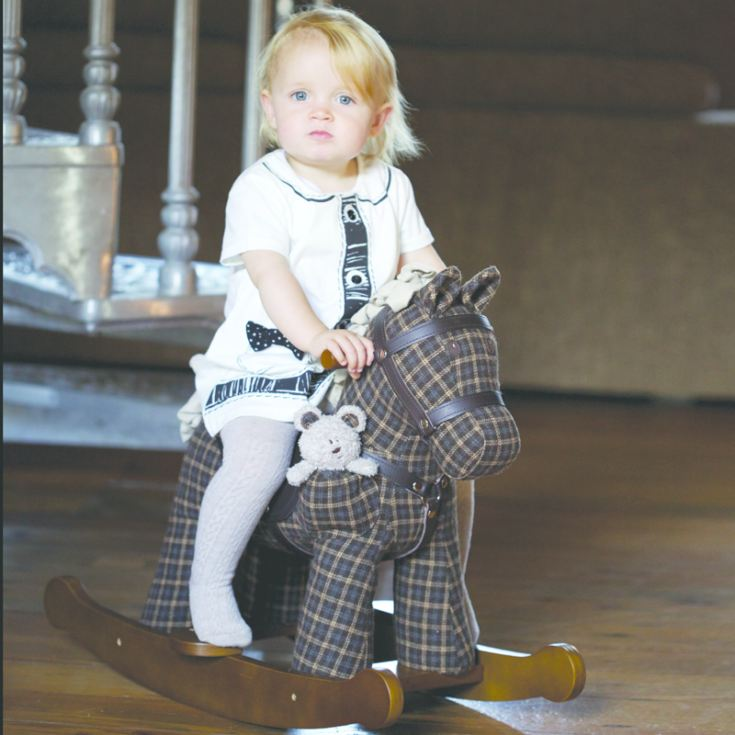Personalised Rufus & Ted Rocking Horse product image