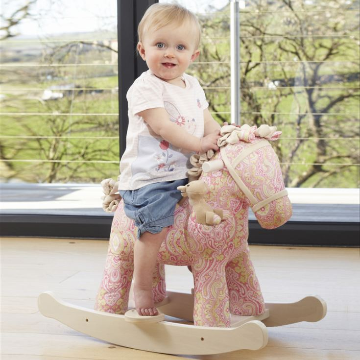 Personalised Pixie & Fluff Rocking Horse product image