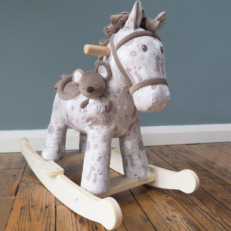 Biscuit & Skip Personalised Rocking Horse 9 Months + product image