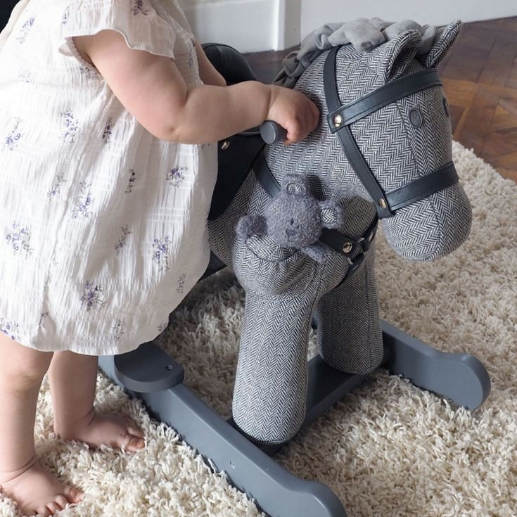Personalised Stirling And Mac Rocking Horse 9+months product image
