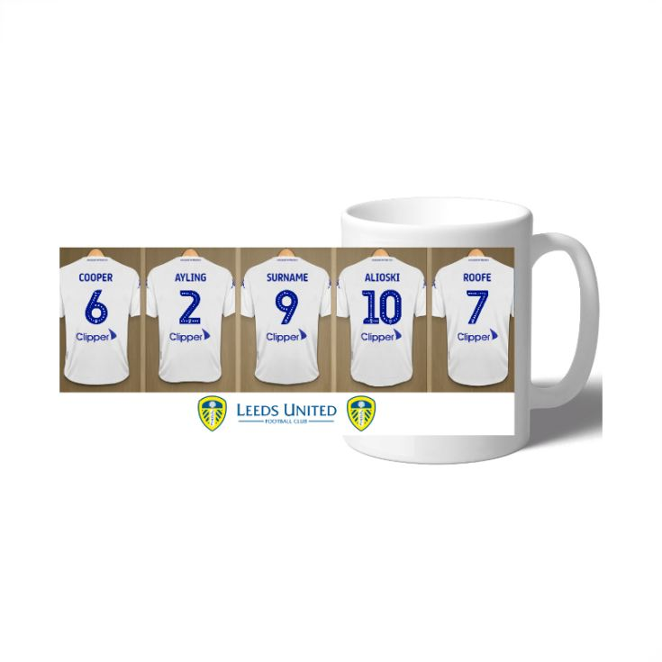 Personalised Leeds United FC Dressing Room Mug product image