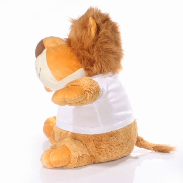 Extra Large Personalised Lion Soft Toy product image