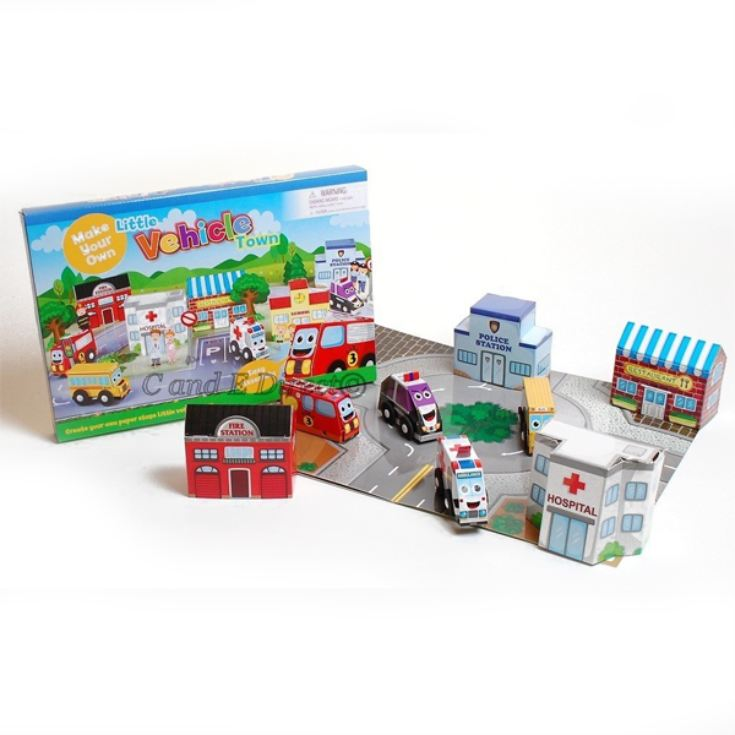 Make Your Own Little Vehicle Town product image