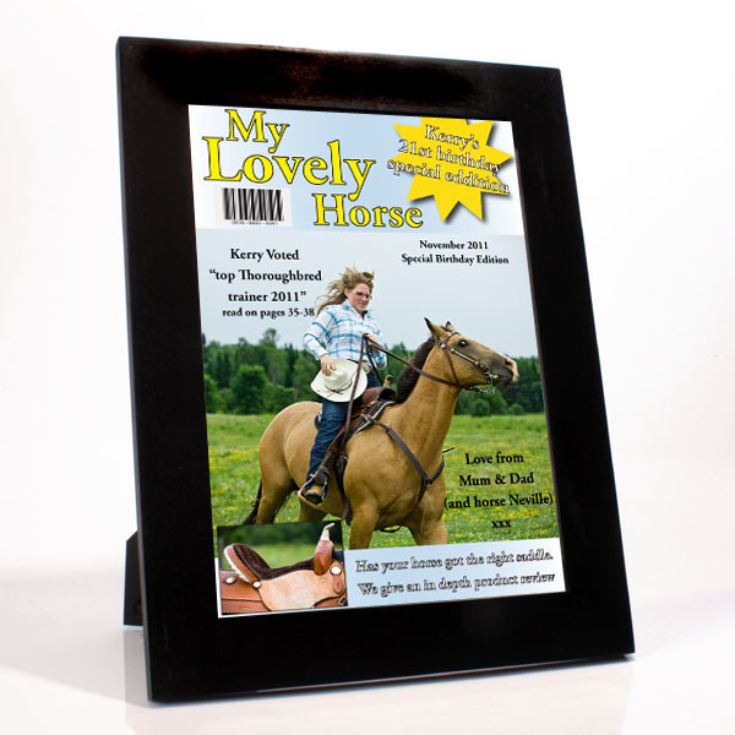 Horse Riding Magazine Cover product image