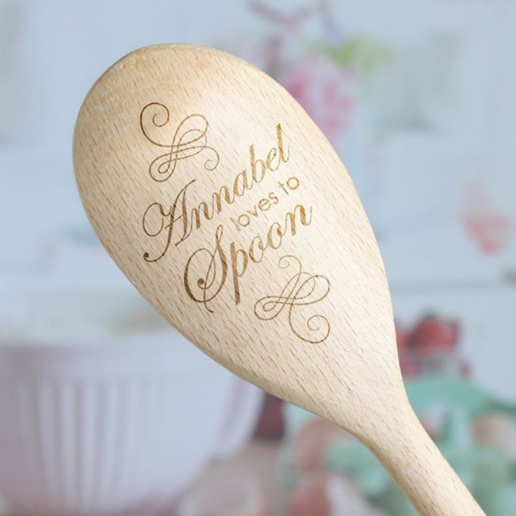 Personalised Love to Spoon - Wooden Spoon product image