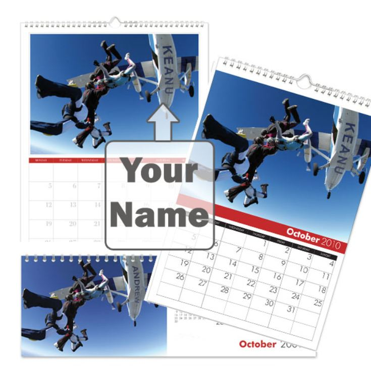 Personalised Xtreme Sports Calendar product image