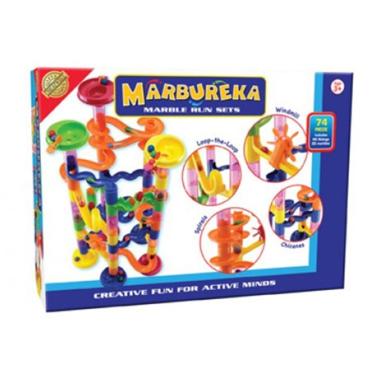 Marbureka Marble Runs (Extended - 74 Pieces) product image