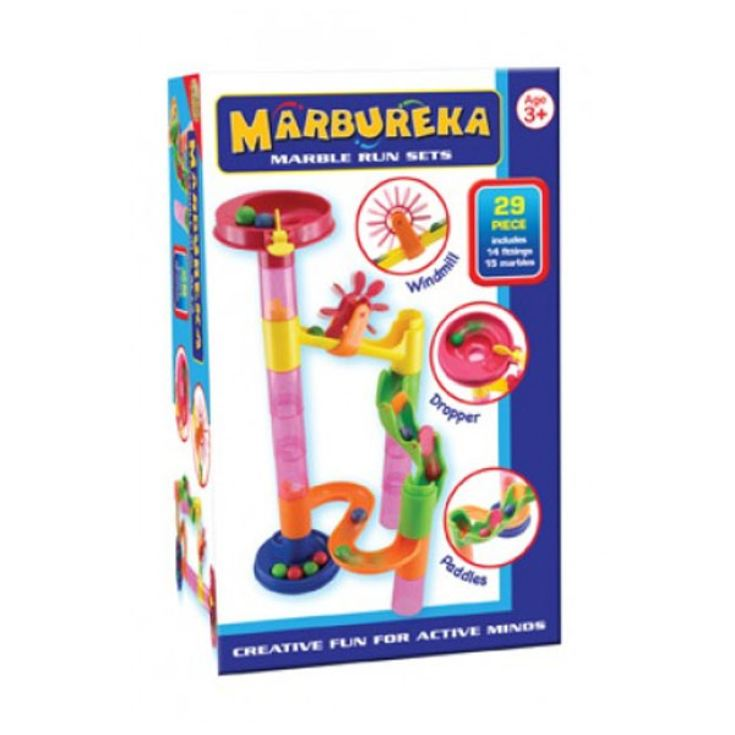 Marbureka Marble Runs (Starter - 29 Pieces) product image