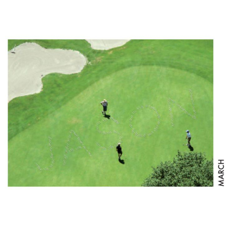 Personalised Golf Calendar product image