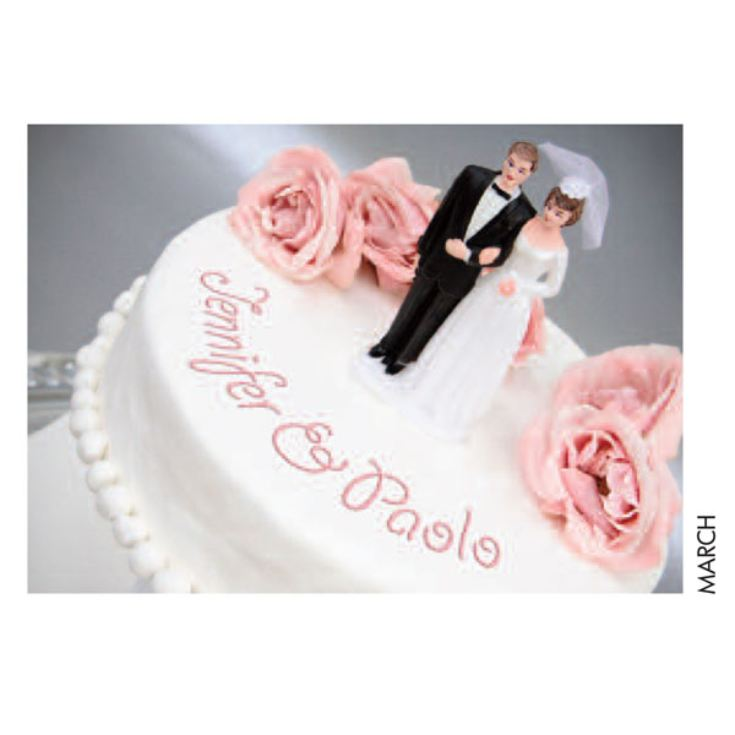Personalised Wedding Calendar product image