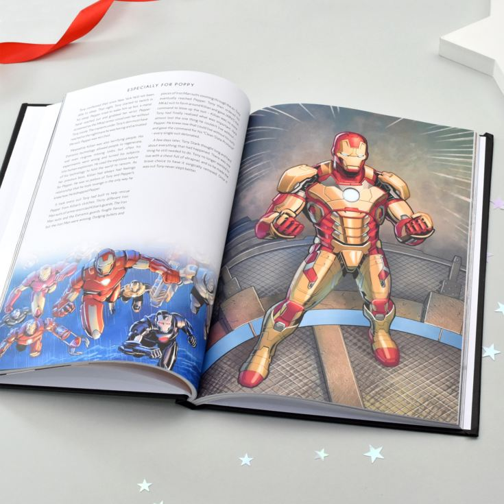 Personalised Marvel 10 Year Anniversary Collection Book product image