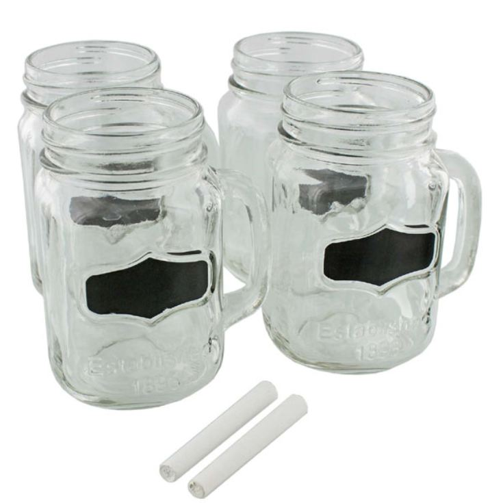 The Yorkshire Selection Set of 4 Mason Jars product image