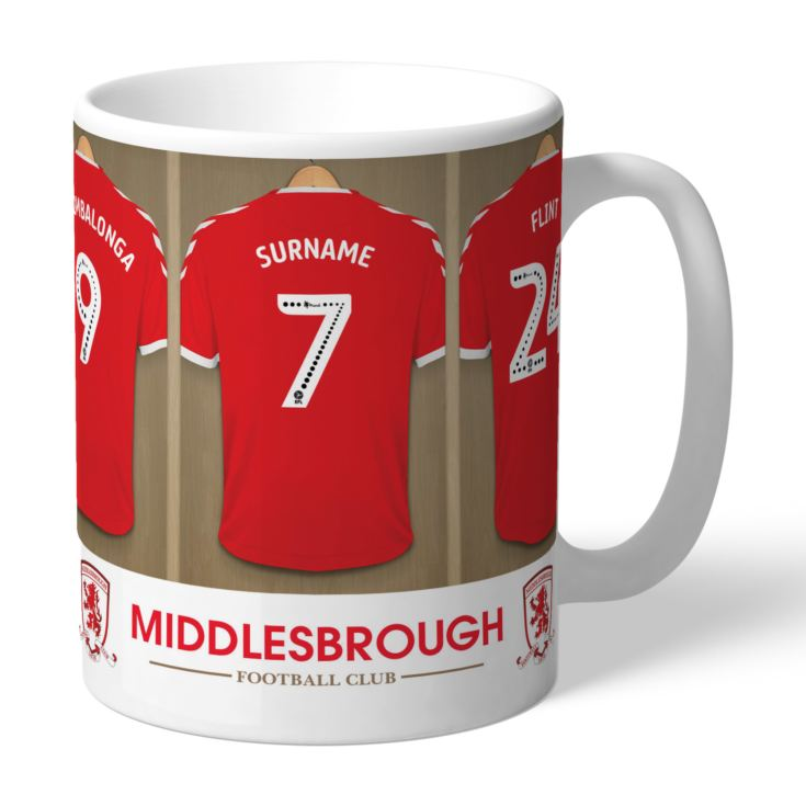 Personalised Middlesbrough FC Dressing Room Mug product image