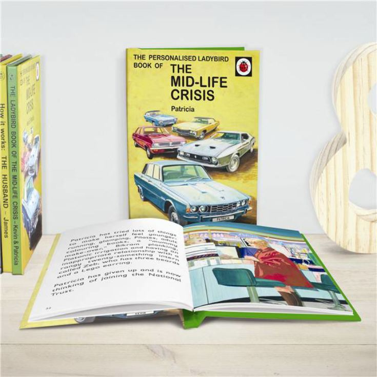 Personalised Ladybird Books For Adults - The Mid-life Crisis product image